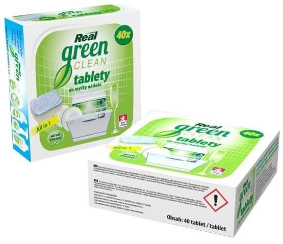 Real GREEN tablety do myčky