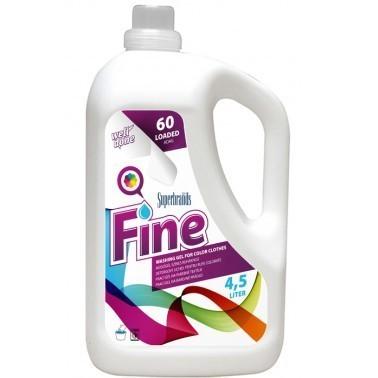 Prací gel 4,5 litrů WellDone na barevné prádlo